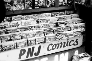 PNJ Comics newsstand - 1975