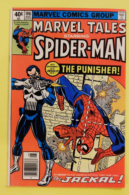 Marvel Tales 106 & 112 Reprints Amazing Spider-man 129 & 135 1st ...