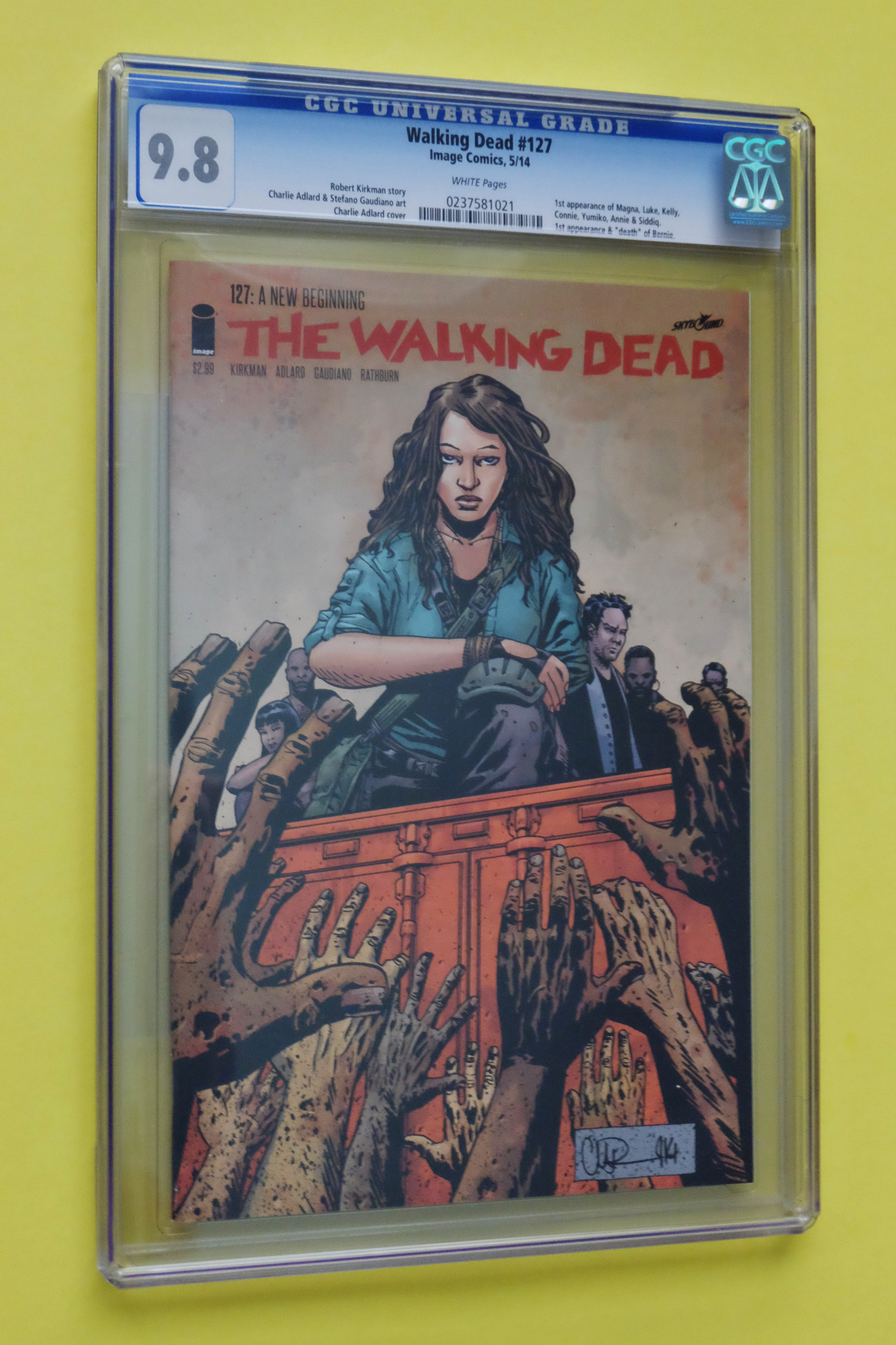 THE WALKING DEAD # 127 NM 1ST PRINT NEW BEGINNING SOLD OUT IMAGE 2014
