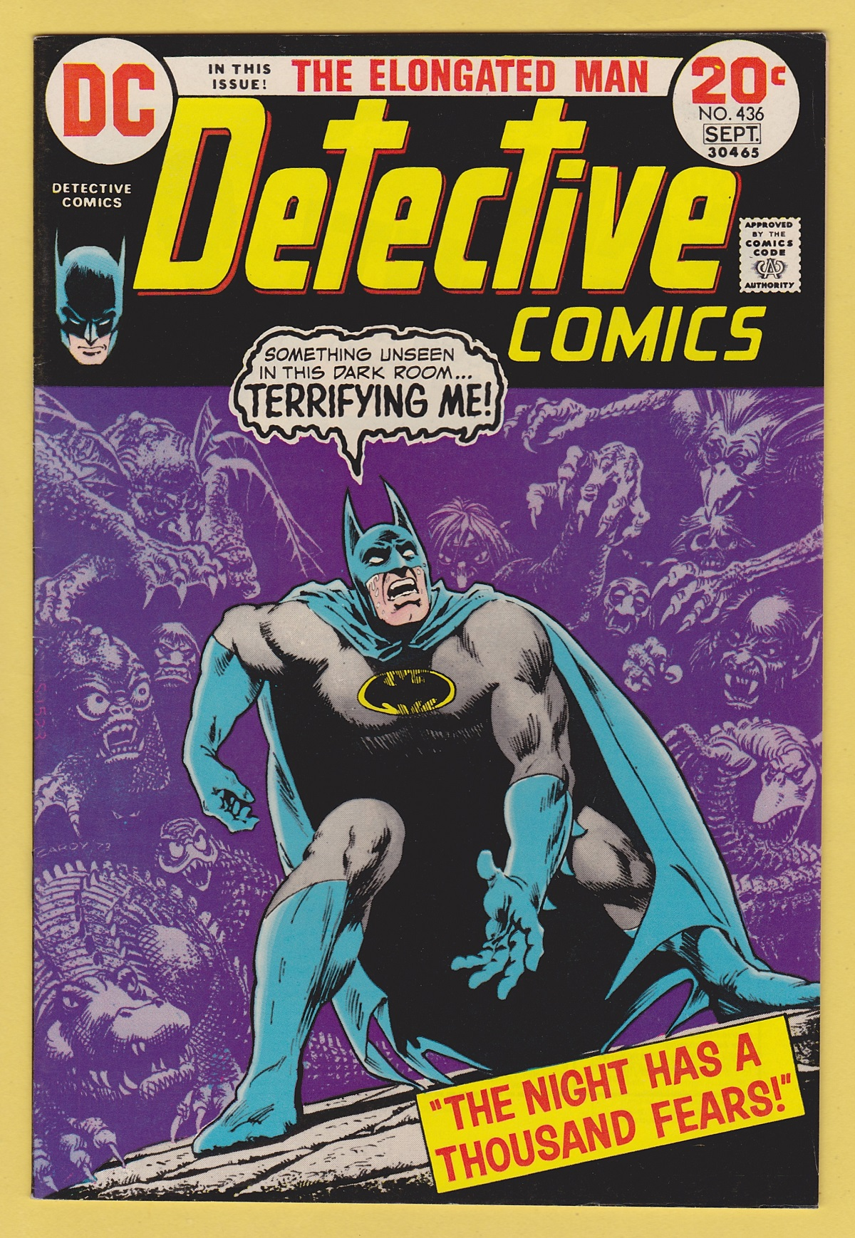 Detective Comics 436 Near Mint 9 4 Elongated Man App Pnj